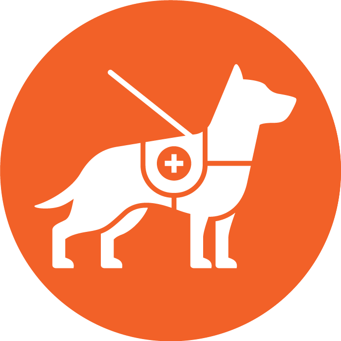 Emotional support dog logo