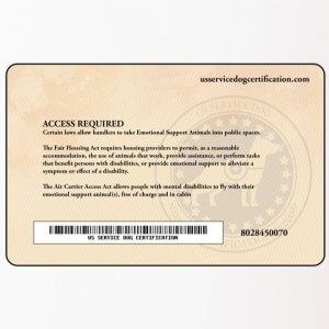 Esa Premium Package Us Service Dog Certification