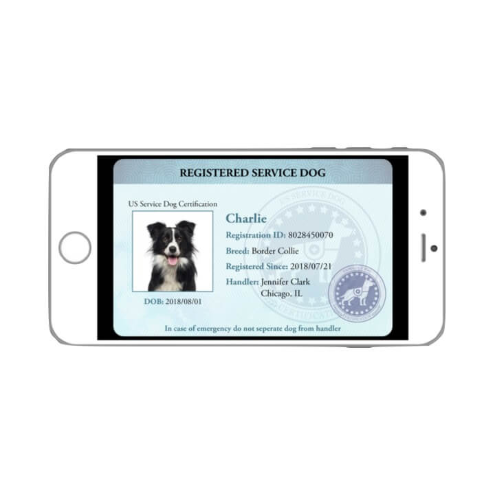 Service Dog Digital ID