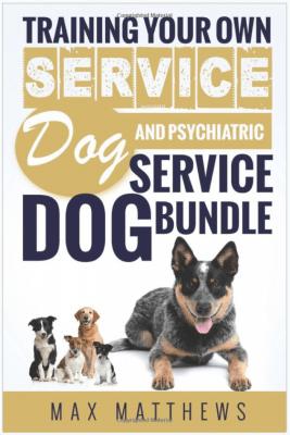 Training service dog and psychiatric service animals
